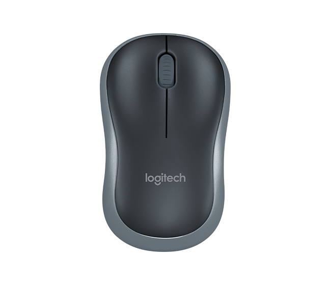 เมาส์ Logitech M185 WIRELESS MOUSE