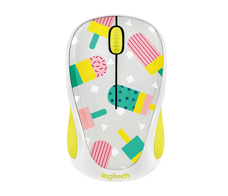 เมาส์ Logitech M238 PARTY COLLECTION Wireless Mouse