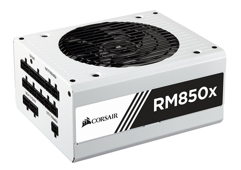 อุปกรณ์จ่ายไฟ Power Supply Corsair RM850x White