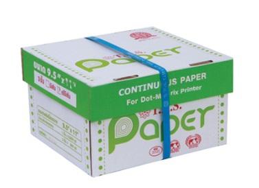 กระดาษต่อเนื่อง T.K.S. 9.5x11 / 3 ชั้น