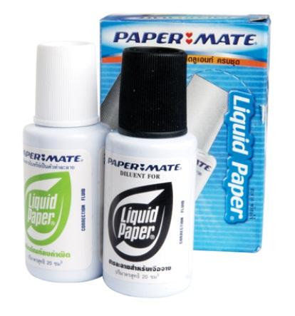 น้ำยาลบคำผิด Paper Mate ขวดคู่ Liquid Paper