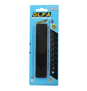 ใบมีดคัตเตอร์ชนิดพิเศษ OLFA HBB-5B (25mm)