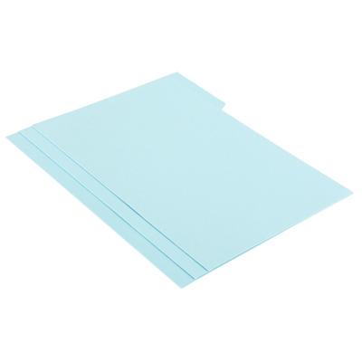 แฟ้มพับกระดาษ หยักบน ขนาด A4