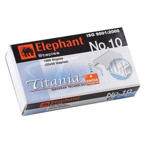 ลวดเย็บกระดาษ ตราช้าง Titania 10-1M