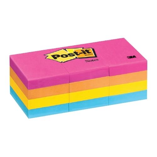 กระดาษโน๊ตกาวในตัว โพสต์-อิท โน้ต POST-IT 653-AN (1.5x2 นิ้ว คละสี)