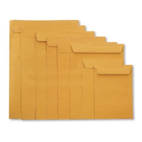 ซองใส่เอกสารน้ำตาล 12x16 (125 แกรม)