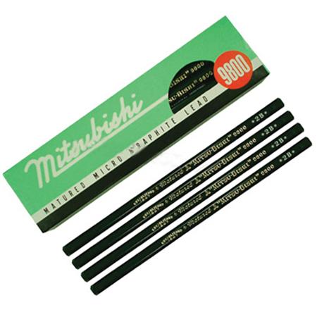 ดินสอไม้ Mitsubishi 9800 2B