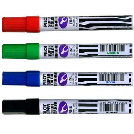 ปากกามาร์คเกอร์ (เคมี) Pilot หัวแหลม SCN-F