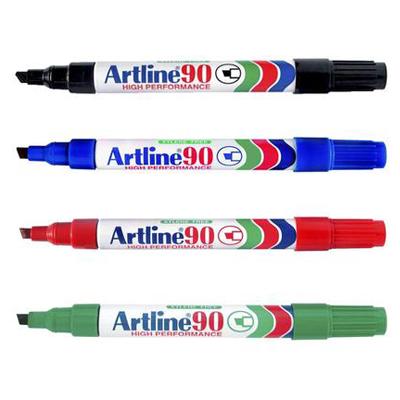 ปากกามาร์คเกอร์(เคมี) หัวตัด Artline EK-90