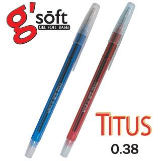 ปากกาลูกลื่น G-Soft Titus