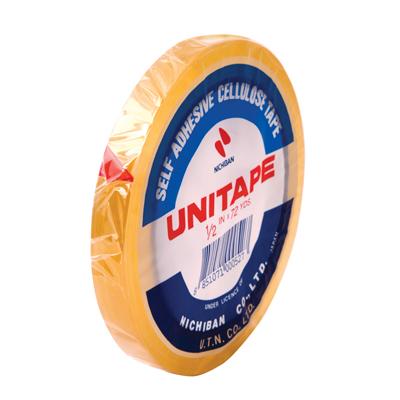 เทปใส 1/2 นิ้ว x 72 หลา UNITAPE แกน 3 นิ้ว