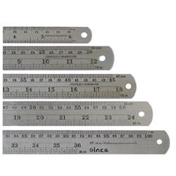 ไม้บรรทัดเหล็ก (Aluminum Ruler)