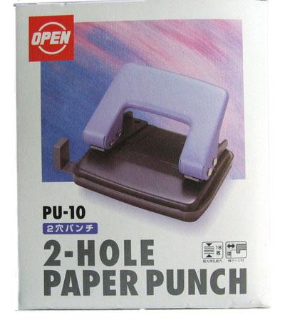 เครื่องเจาะกระดาษ OPEN PU-10