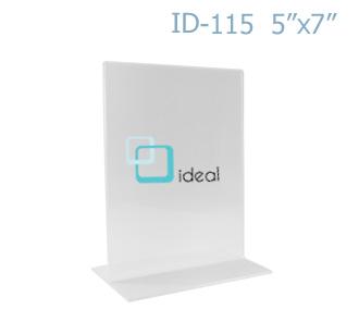 กรอบ T-STAND ID-115 5x7 นิ้ว IDEAL