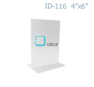 กรอบ T-STAND ID-116 4x6 นิ้ว IDEAL