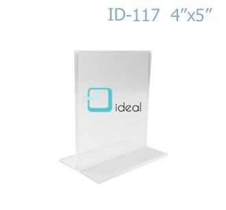 กรอบ T-STAND ID-117 4x5 นิ้ว IDEAL