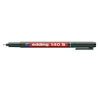 ปากกาเขียนแผ่นใส ลบน้ำไม่ได้ หัว S 140 EDDING