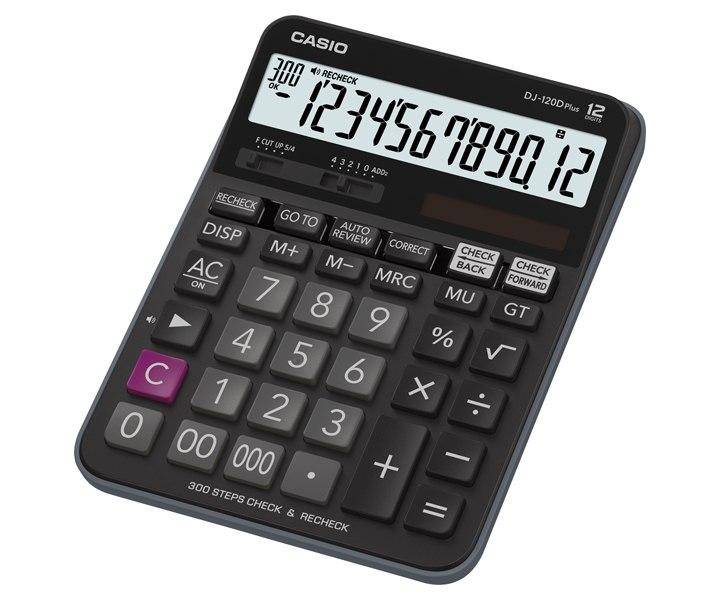 เครื่องคิดเลข Casio แบบมีฟังส์ชั่น 12 DJ-120D Plus