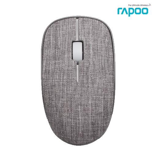 เมาส์ Rapoo Wireless Optical Mouse 3510 Plus (MS3510) สีเทา