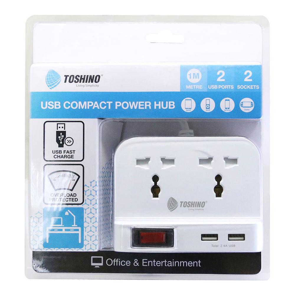 รางปลั๊กไฟขนาด+USB