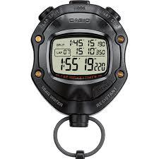 นาฬิกาจับเวลา CASIO STOPWATCH SPORTY  รุ่น HS-80TW
