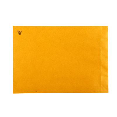 ซองจดหมายสีน้ำตาล พิมพ์ครุฑ  No.9x12 3/4 KA