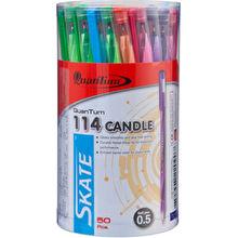 ปากกาลูกลื่น 0.5มม. QUANTUM Candle Skate114