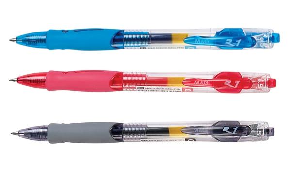 ปากกาหมึกเจล 0.5 มม. ดำ M&G GP-1008
