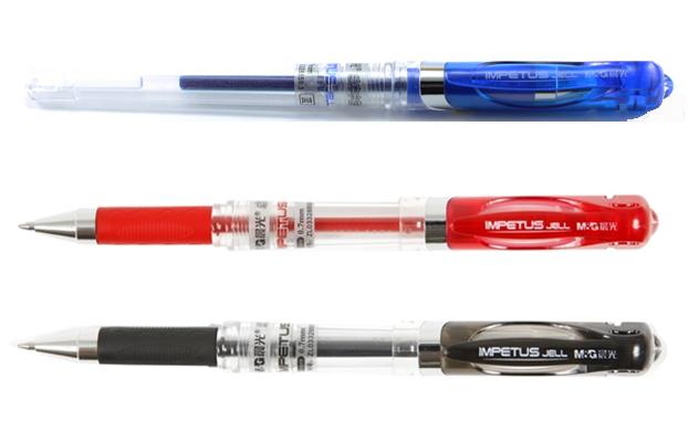 ปากกาหมึกเจล0.7 มม. M&G GP1111