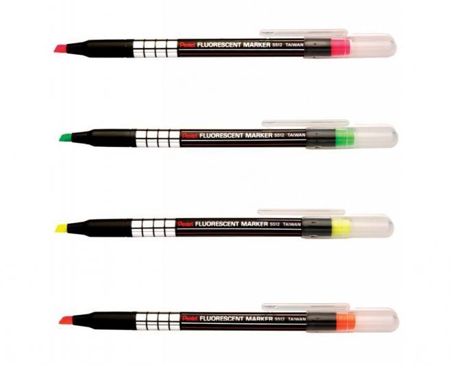 ปากกาเน้นข้อความ (S512-K) PENTEL S512