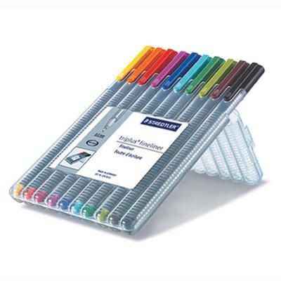 ปากกาหัวสักหลาด 0.3มม. STAEDTLER  334SB10
