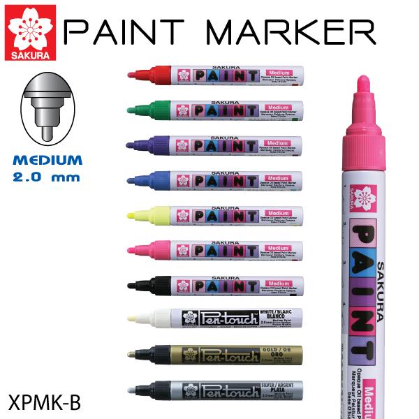 ปากกาเพ้นท์ 1 มม. ซากุระ XPMK-B