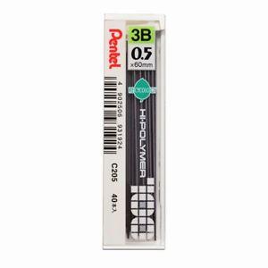 ไส้ดินสอ 3B 0.5 มม. PENTEL Hi-Polymer C205