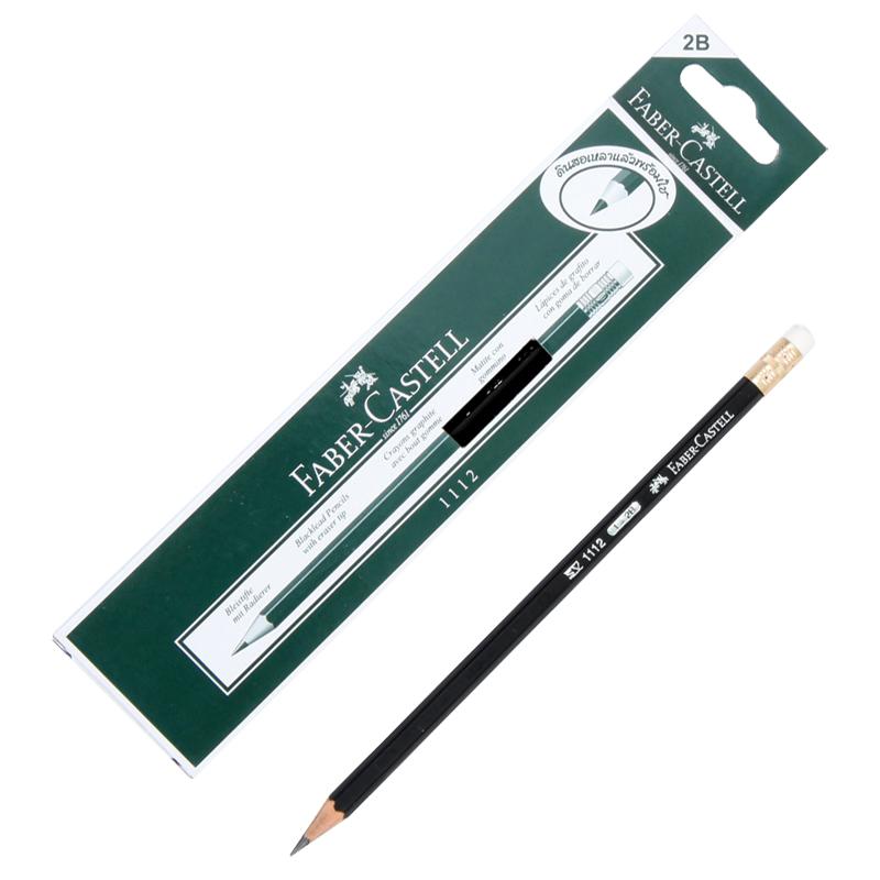 ดินสอ 2B  Faber-Castell 1112