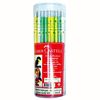 ดินสอลายสูตรคูณ คละสี Faber-Castell 4J0500