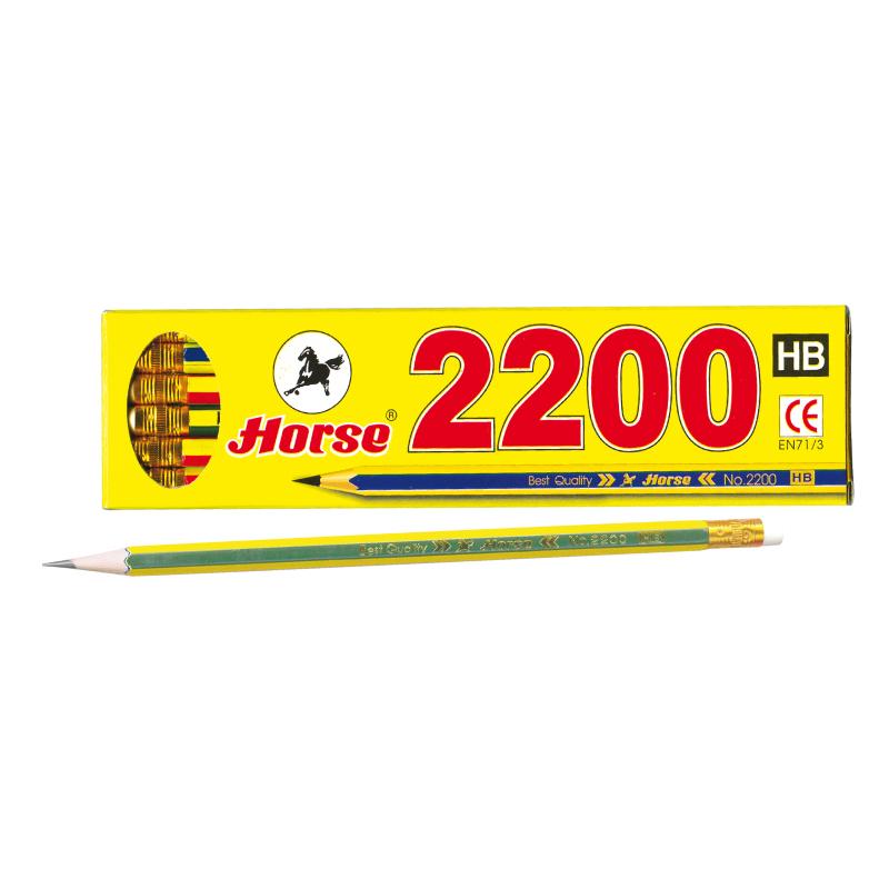 ดินสอ HB ตราม้า H-2200
