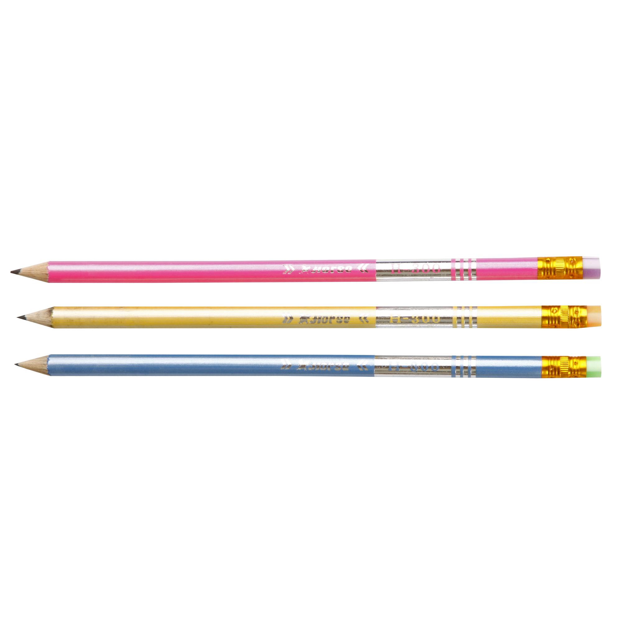 ดินสอ HB ตราม้า H-300