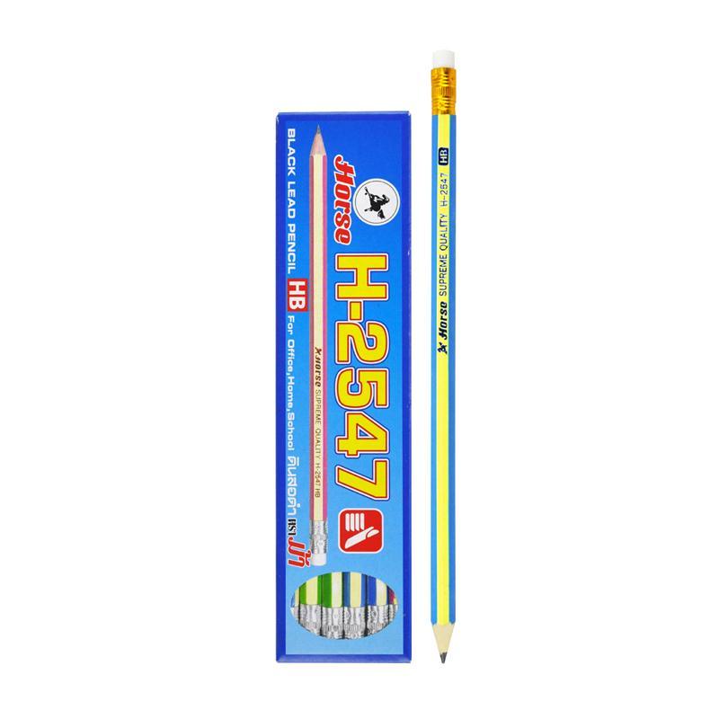 ดินสอ HB  ตราม้า H-2547