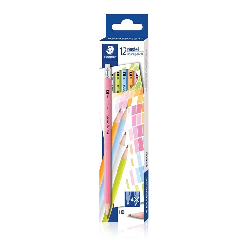 ดินสอ HB STAEDTLER Norica Pastel