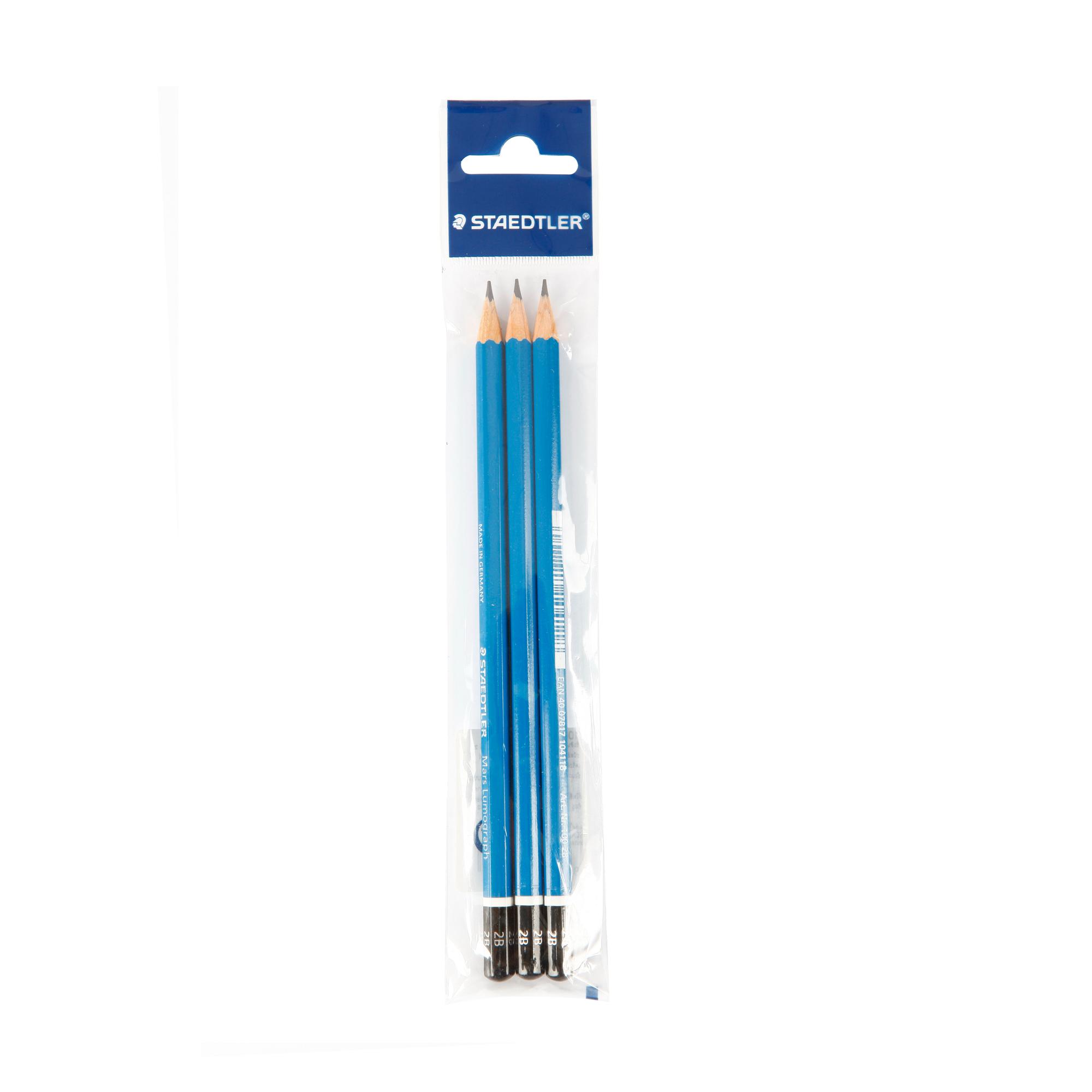 ดินสอเขียนแบบ 2B STAEDTLER  Lumograph