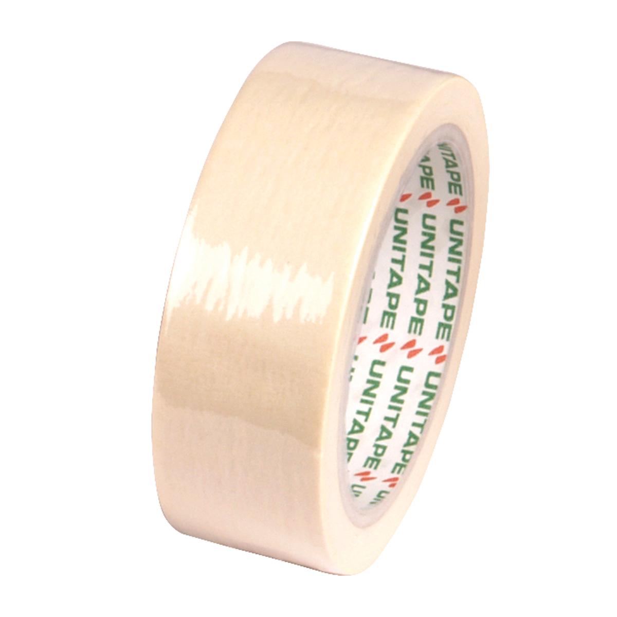 กระดาษกาวย่น แกน 3 นิ้ว 1 1/2  นิ้ว x 25 UNITAPE