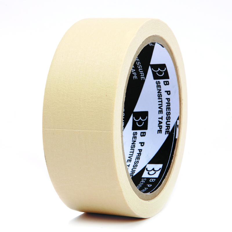 กระดาษกาวย่น แกน 3 นิ้ว 1 1/2 นิ้ว  24 หลา ตราใบโพธิ์