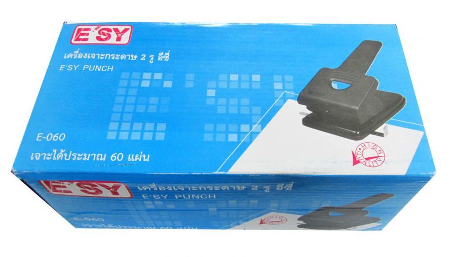เครื่องเจาะกระดาษ E SY E-060