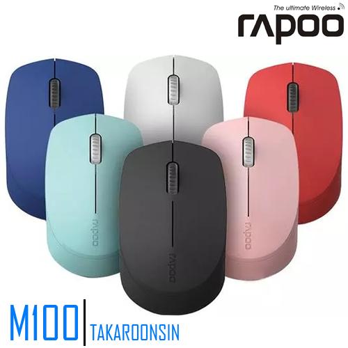 เมาส์ Rapoo MSM100 Silent Wireless mouse