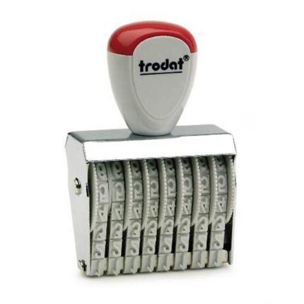 ตรายางตัวเลข 8 หลัก 4มม. TRODAT TR-1548
