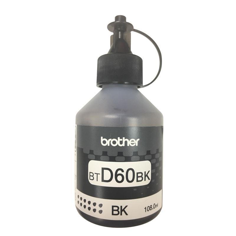 หมึกเติม ดำ Brother BT-D60BK