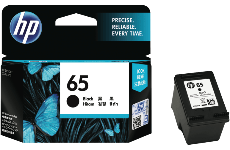 หมึกน้ำ HP 65 Black Ink Cartridge
