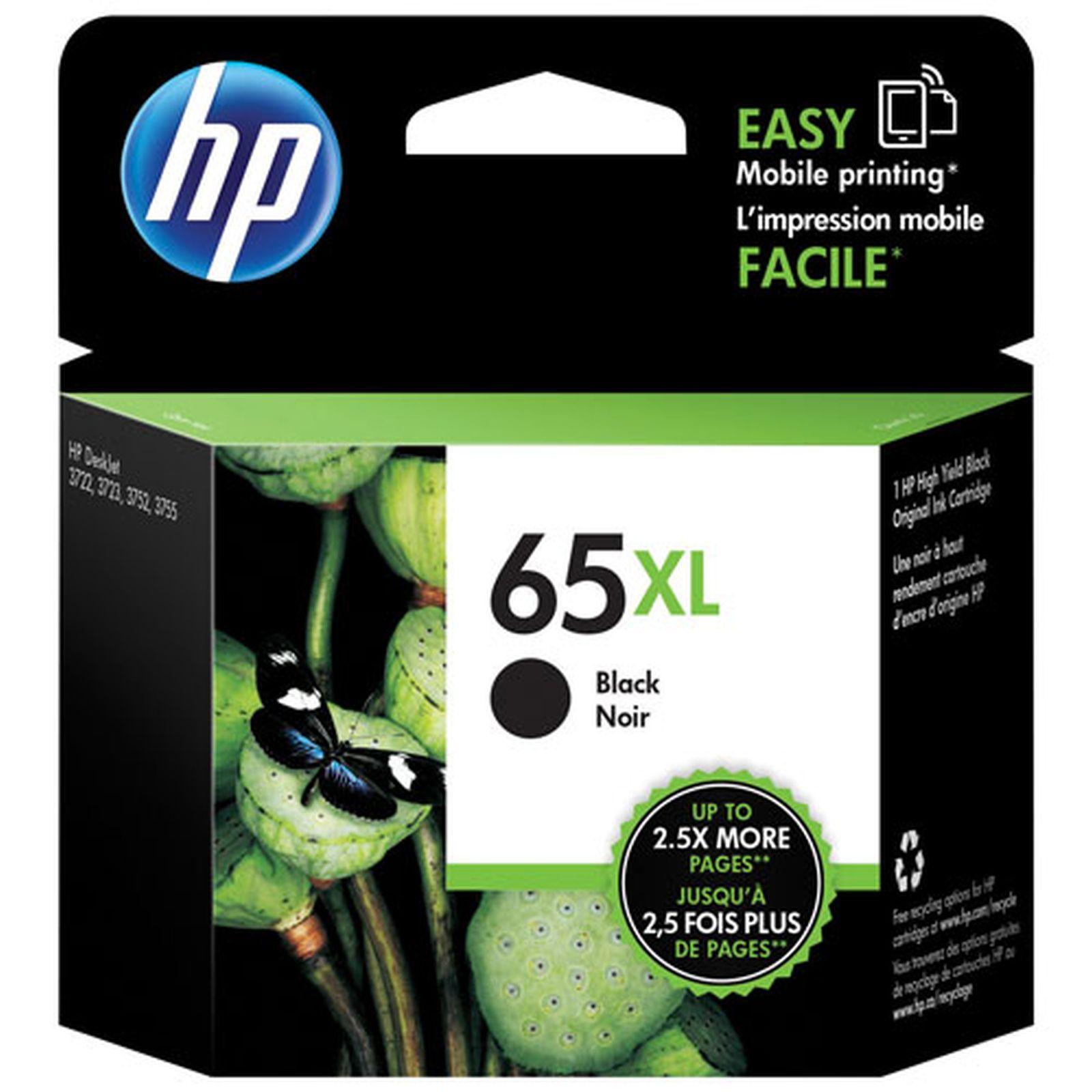 หมึกน้ำ HP 65XL BLACK
