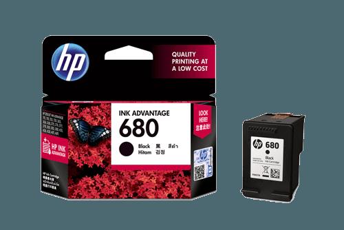 ตลับหมึกอิงค์เจ็ท  HP 680/BK