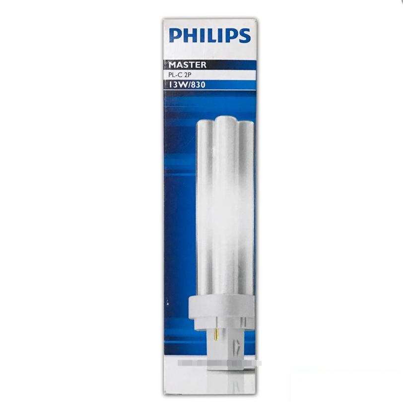 หลอดตะเกียบ 13W/827 Philips PL-C 2P